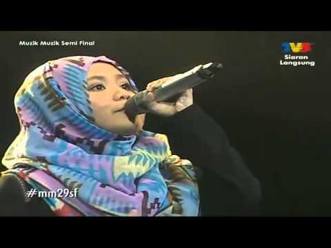 Najwa Latif Ft Iamneeta - Kau Pergi Jua [separuh Akhir Muzik Muzik 29] video