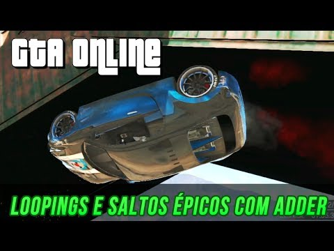 GTA Online - Stunts Looping,Saltos épicos com ADDER
