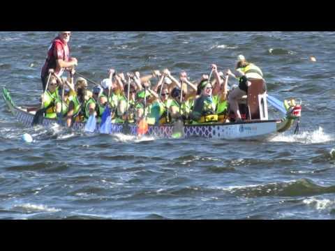 AMI Dragon Boat Bradenton 4 10 16 race 1