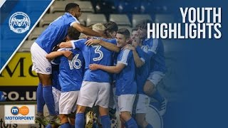 HIGHLIGHTS | FA Youth Cup - Peterborough United vs Port Vale