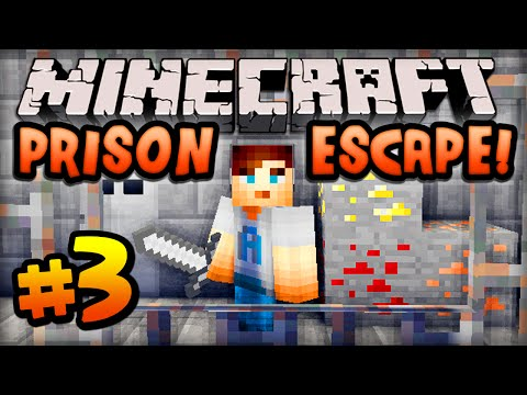 Minecraft PRISON ESCAPE - Episode #3 w/ Ali-A! - MY NEW CELL!