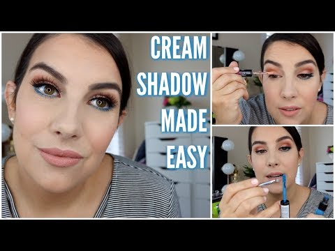 CREAM SHADOW MADE EASY | High Impact, Longwearing