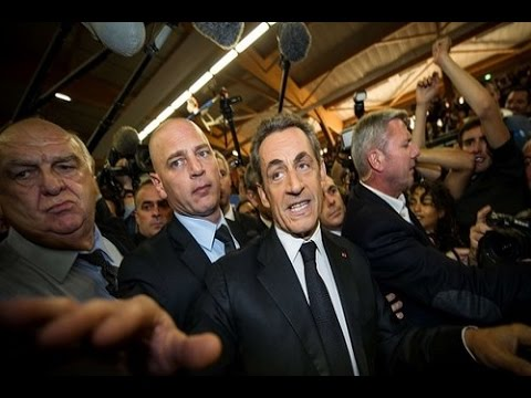 Nicolas Sarkozy Re launched Political Career at Lille Rally