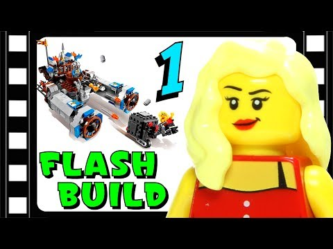 Animated LEGO Castle Cavalry 70806 The LEGO Movie Flash Speed Build 1