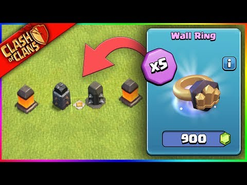 BUYING 5 WALL RINGS..? впё Clash of Clans впё WORST. IDEA. EVER.