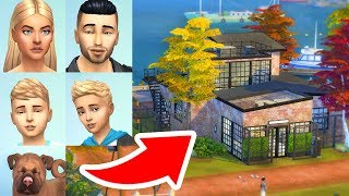 Building a new house for my sims family.