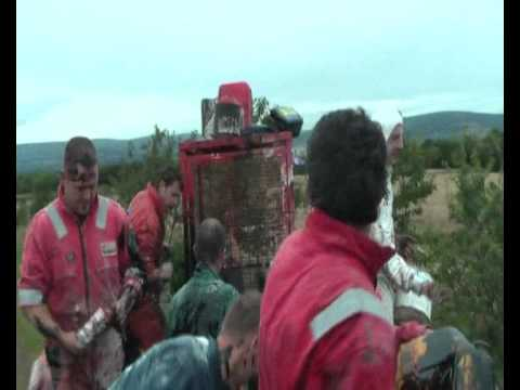 Scottish Blackening, Laurencekirk, Aberdeenshire - Davie Nicoll 2011 Part 2