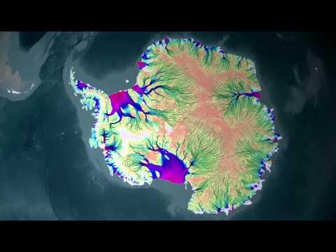 NASA: Full Map of Antarctic Ice Flow [720p]