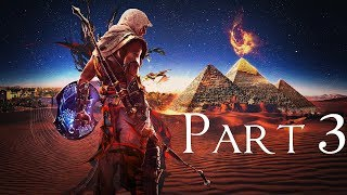 ASSASSIN'S CREED ORIGINS Gameplay Walkthrough Part 3   1080p   PC - NIGHTMARE MODE   No Commentary