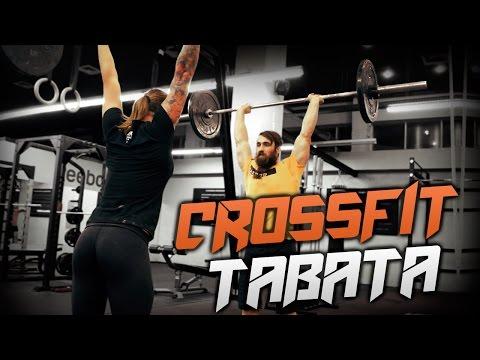 CrossFit, girls and Rock'n'roll. Tabata by Borodach Jr.