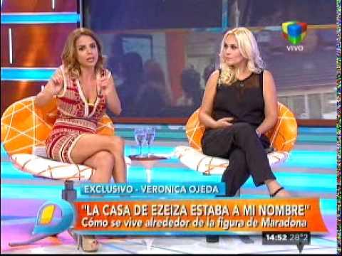 """Verónica Ojeda: """"Me da asco nombrar a la novia de Diego"""""""