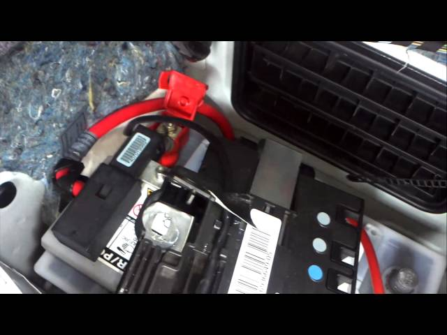 BMW 3 series E90/1/2 Battery Removal How to DIY ...