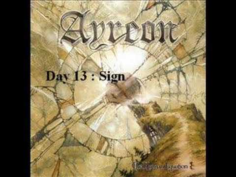 Ayreon - Day Thirteen Sign