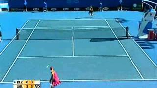 Aravane Rezai v Tatiana Golovin WTA highlights Australian Open