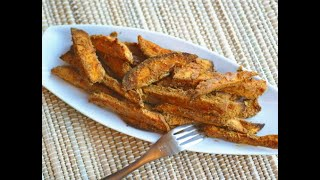 Cook with Me in Quarantine Kitchen: Nut butter-crusted veggie fries with Ricki Heller