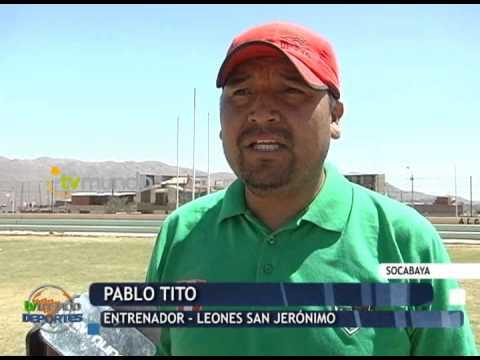 Leones San Jerónimo busca incentivar el fútbol de menores en Socabaya - Tvmundo Deportes 2014