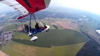 Krátké video z nově nainstalované kamery na křídle...