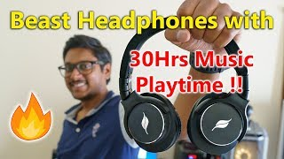 Wireless Headphones with Insane 30 Hrs Battery Life !!