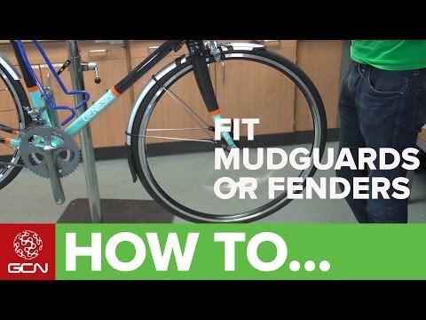 How To Fit Road Bike Mudguards Or Fenders - Fit SKS Race Blades