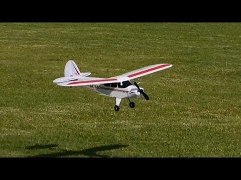 HobbyZone Super Cub S RC Plane Action Video