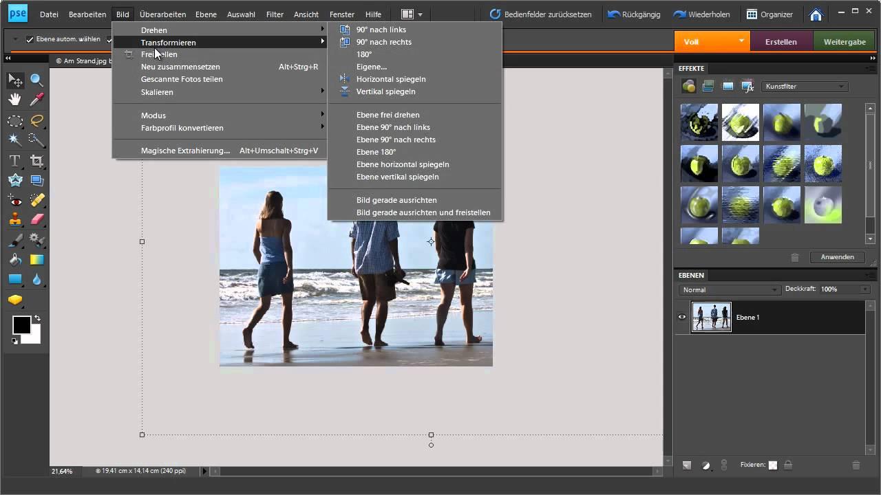 Programm zur Fotobearbeitung kostenlos downloaden