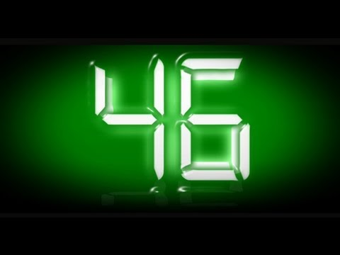 countdown 1 minute ( v 15) clock timer with sound effect - timer con bip - beep effect