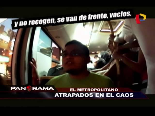 El Metropolitano: atrapados en el caos