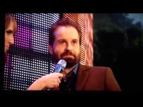 Chat with Alfie Boe in Edinburgh Castle