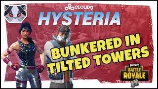 Hysteria | Fortnite Battle Royale - Bunkered in Tilted Towers - Duos with Yelo.