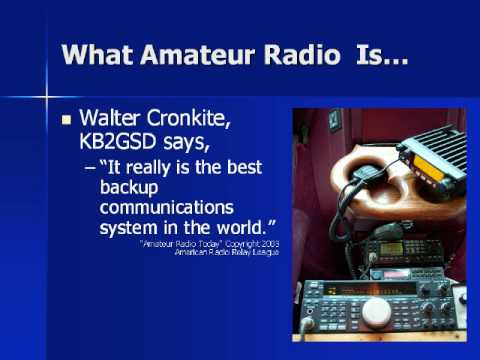 Boston Marathon Ham Radio Video 1/2, Part 2/2