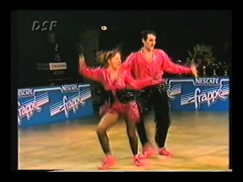 Dorothée Blanpain & Mikael Angueira - World Masters Paris 1993