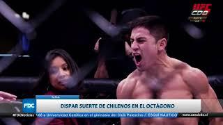 Con éxito se realizó UFC en Chile
