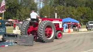 2009 sandown nh tractor pull, farm tractors
