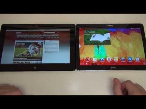 Samsung Galaxy Note 10.1 2014 Edition vs Asus Transformer Book T100