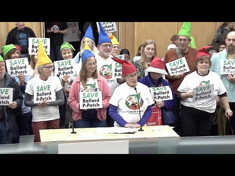 Seattle City Council: Select Budget Committee Public Hearing 10/22/19