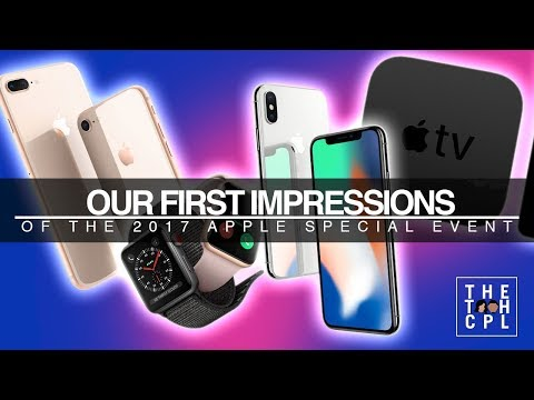 The Apple Special Event in Under 10 minutes (Apple TV 4K, Series 3 Apple Watch, iPhone 8, iPhone X)