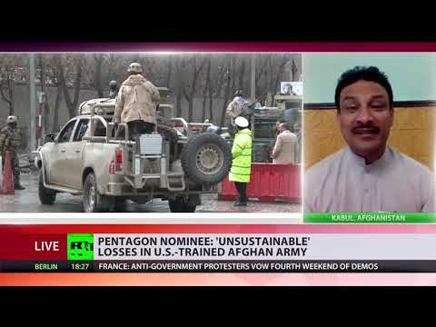 Pentagon nominee: 'Unsustainable' losses in US-trained Afghan army