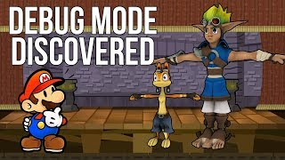 Debug Mode Discovered 13+ Years After Release (Paper Mario TTYD & Jak and Daxter)