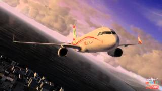 New Middle East Airlines MEA A320 Sharklet Repaint P3D & FSX