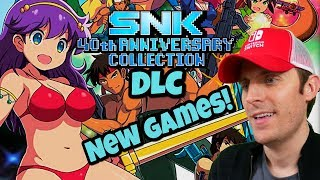 SNK 40th Anniversary Collection DLC - 11 New Games!