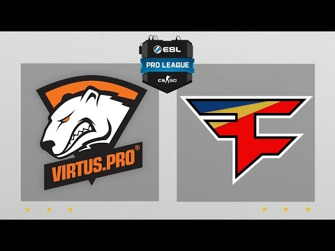 CS:GO - Virtus.Pro vs. FaZe [Nuke] Map 2 - ESL Pro League Season 5 - EU Matchday 25
