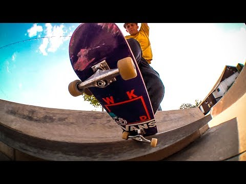 Toby Bennett at Woodward Camp