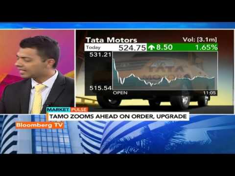 Market Pulse: Tata Motors Zooms Ahead On Order, Upgrade