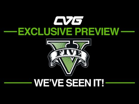GTA V - GTA 5 o'clock: GTA V - We've seen it! EXCLUSIVE PREVIEW