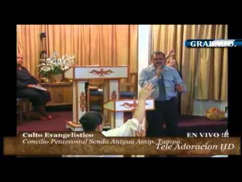 Culto Evangelistico Concilio Pentecostal Senda Antigua Amip Tampa Bay. 06-21-2015