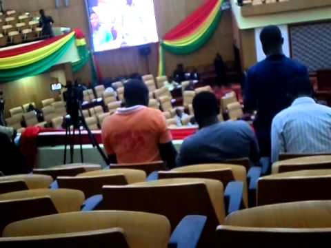 Petition on Human Right to Water and Sanitation presented to Parliament of Ghana