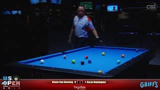 2018 US Open 8-Ball Championship: Shane Van Boening vs Oscar Dominguez