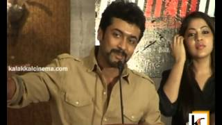 Maatraan - Surya at Maatraan Press Meet