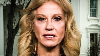 """Kellyanne Conway Defends Sarah Huckabee Sanders' Lies As """"Unfortunate Misstatements"""""""