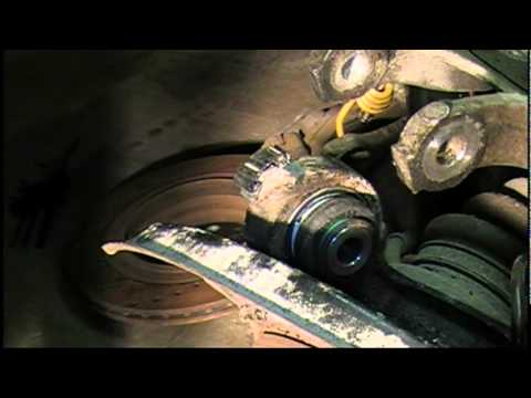Upper and Lower Rear Control Trailing Arm Bushing Removal and Installation BMW 3 Series e46
